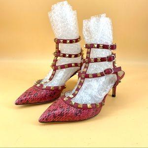 Valentino Garavani snakeskin sandals